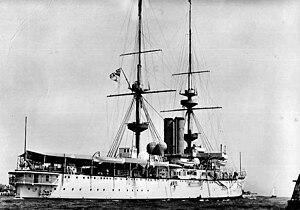HMS Renown (1895) - HMS Renown in 1905