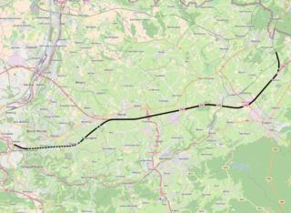 HSL 3 railway line in Belgium