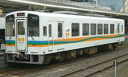 Hisatsu Orange Railway 100 series train