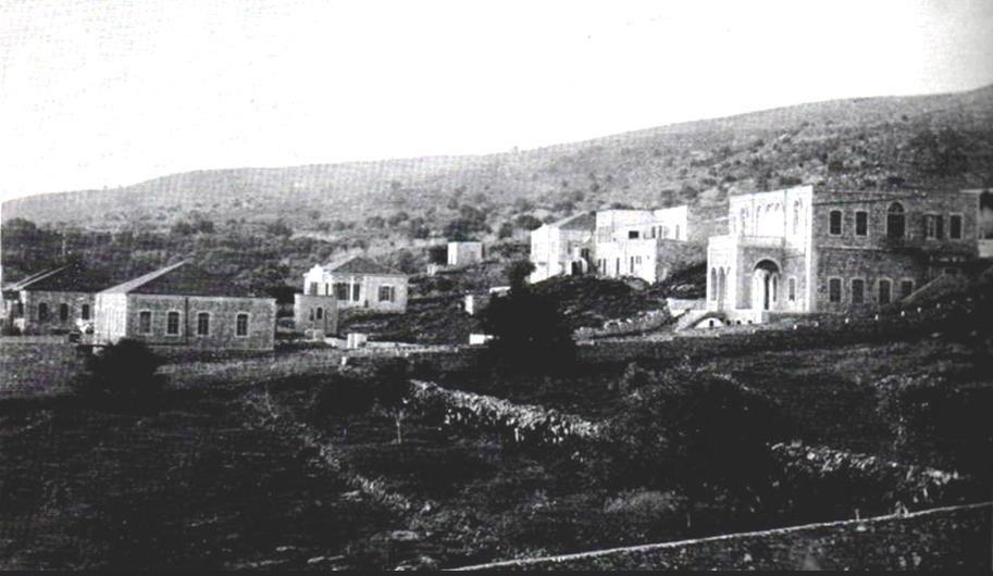 Haifa, Herzlia neighborhood, 1907
