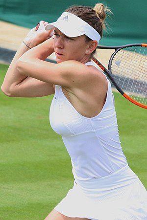 Simona Halep - Halep at the 2017 Wimbledon Championships