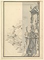 Half Elevation and Half Ground Plan for a Catafalque for a Duke MET DP820090.jpg