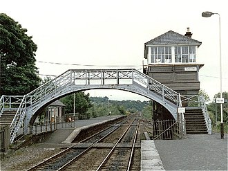 Haltwhistle - Haltwhistle railway station