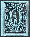 Hamburg 1863 local stamp one Sch.jpg