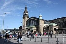 Amburgo-Porto ed aeroporto-Hamburg Hauptbahnhof 2009 319