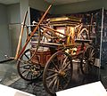 Hand-pumped fire engine built by Betts, Harlan, & Hollingsworth, used in Wilmington Delaware, c. 1842, view 1 - National Museum of American History - DSC00327.jpg
