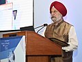 """Hardeep Singh Puri delivering the inaugural address at the Project Managers Global Summit, 2018 on """"Powering India's Breakthrough Growth - New Dimensions in Project Management"""", in New Delhi.JPG"""