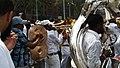 Harlem Fire Hydrant Baptism, brass band musicians!.jpg