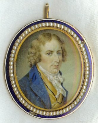 Harman Blennerhassett - Harman Blennerhassett, from a 1796 miniature painted in London