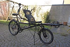 Hase Spezialräder - Image: Hase Pino Stufentandem DSC 7041