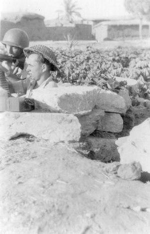 Hatta, Gaza - Yiftach Brigade position in Hatta, 1948
