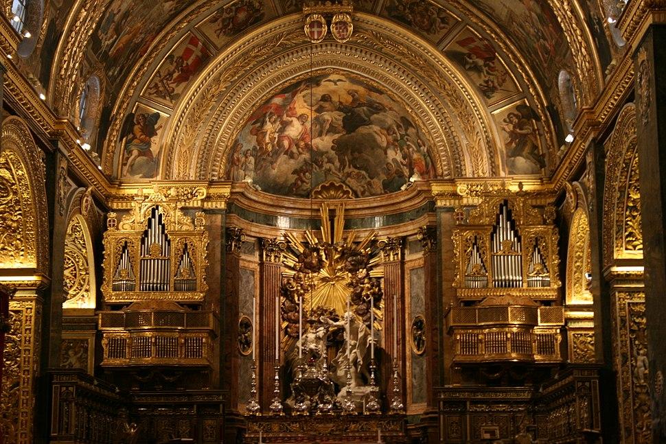 Hauptaltar der St. John's Co-Cathedral