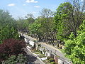 Hauptfriedhof Wuerzburg from bridge in east 13.jpg
