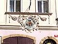 Haus Zu den drei Geigen, Hausmarke in der Kleinseite (Malá Strana), Praha, Prague, Prag - panoramio.jpg
