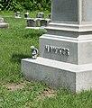 Hawkes grave 02 - Green Lawn Cemetery.jpg
