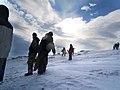 Haytor Snow flare 2009 (3258249889).jpg