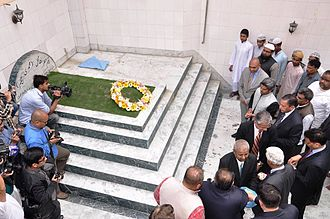 Begum Hazrat Mahal - Photograph of tomb of Begum Hazrat Mahal near Jama Masjid in Kathmandu