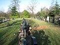Headstones, Widney Manor Cemetery, 2 - geograph.org.uk - 2232707.jpg