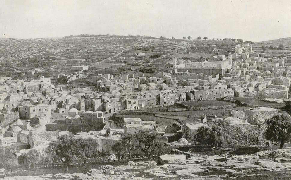 Hebron circa 1910