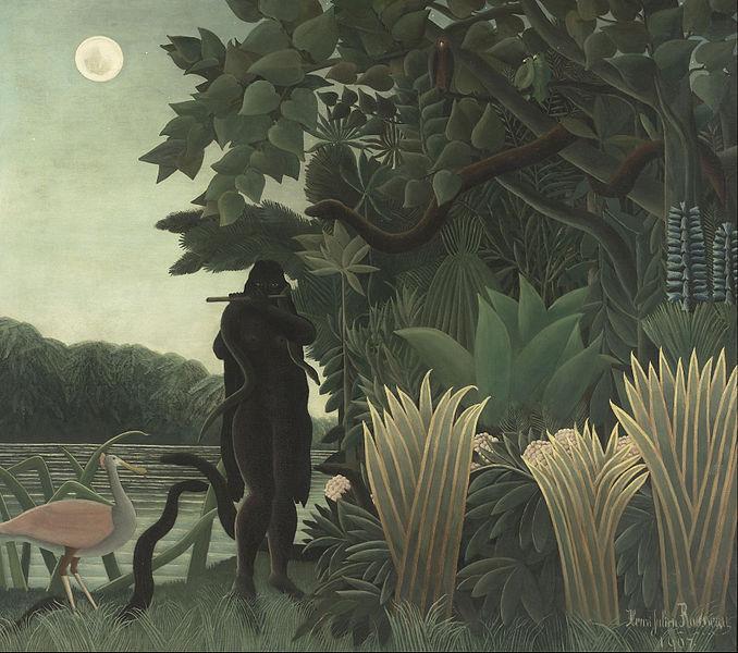 File:Henri Rousseau, known as le Douanier - The Snake Charmer - Google Art Project.jpg
