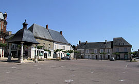 The main square in Henrichemont
