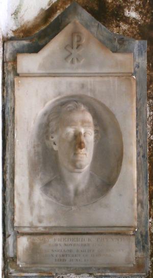 Henry Carteret, 1st Baron Carteret - Image: Henry Thynne 1st Baron Carteret Kilkhampton Church Cornwall