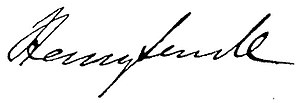 Henry Sewell - Image: Henry Sewell Signature