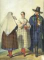 Henryk Jastrzembski Włościanie z okolic cieszyna 1846.png