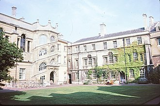 Brideshead Revisited - The Old Quad of Hertford College, Oxford