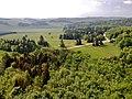 Herzstück des Biosphärengebiets der schwäbischen Alb, Der ehemalige Truppenübungsplatz Münsingen im sogenannten Münsinger Hardt, Ausblick vom Turm Hursch - panoramio (1).jpg