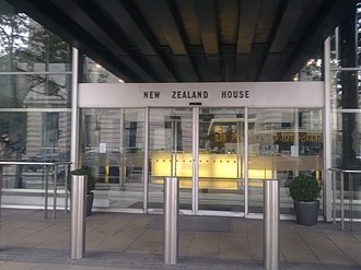 High Commission of New Zealand, London - Image: High Commission of New Zealand in London 2