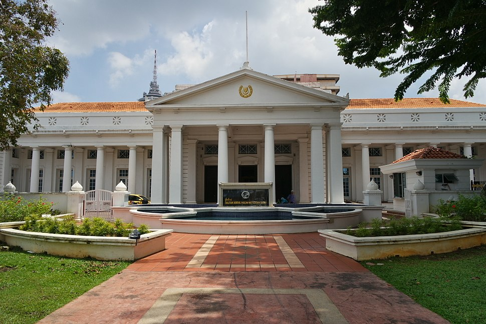 High Court Building converted into Galeri Sultan Abdul Halim Mu%27adzam Shah
