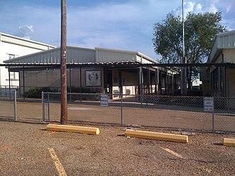 Hornbeck, Louisiana - Image: High School HHS 001