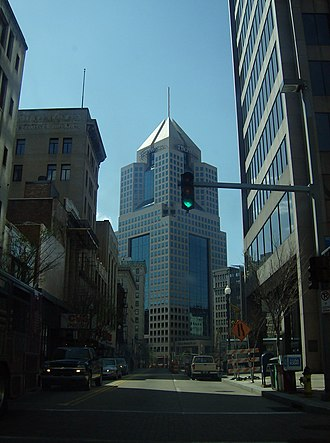 Highmark - Highmark's headquarters at Penn Avenue and Fifth Avenue in Pittsburgh, Pennsylvania