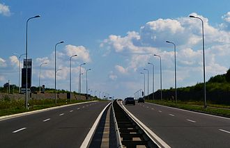Roads in Ukraine - Local road T-1410 near Lviv