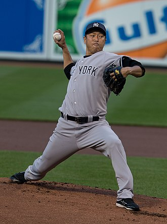 Hiroki Kuroda - Kuroda during his tenure with the New York Yankees in 2013