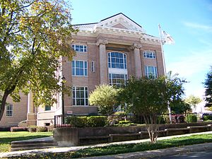 Gaston County, North Carolina - Image: Historic 2nd Gaston County Courthouse Gastonia, NC