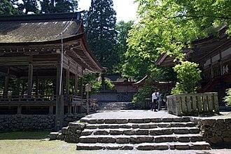 Hiyoshi Taisha - Image: Hiyoshi taisha usagu 01bs 4592