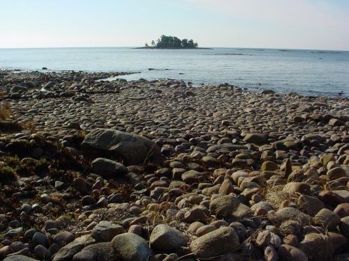 Hjortens Udde, lake Vänern Sweden, 2003-04