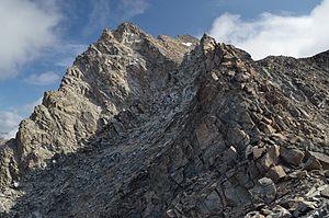 Hohe Geige - Image: Hohe Geige west ridge 2