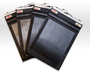Film holder - Graflex 4×5 Sheet Film Holders.