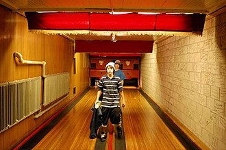Holler House - Pinboys at Holler House bowling alley