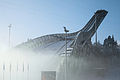 Holmenkollbakken in fog.jpg