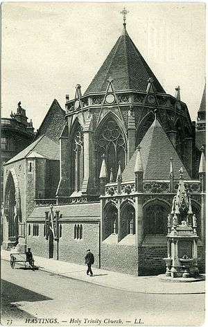 Henry Ward (architect) - Holy Trinity, Hastings: Ward added the Lady Chapel in 1907