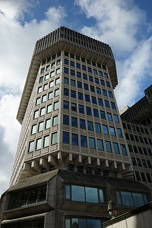 David Cameron - The Home Office building Cameron worked at during the 1990s
