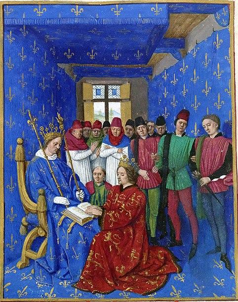 Hommage d Édouard Ier à Philippe le Bel