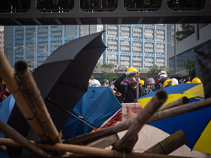 Hong Kong protests - Kwong Tong March 20190824 - P1066333.jpg