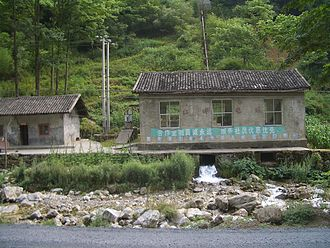 Small hydro power plant for your home