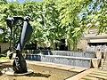 Hope sleeping - grand disguise sculpture by David Wilson at QAG, Brisbane 01.jpg