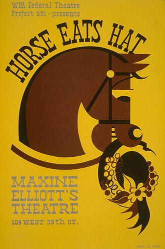 Horse Eats Hat - Image: Horse Eats Hat by Edwin Denby after Eugène Labiche